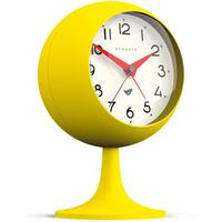 Newgate Dome II Alarm Clock - Citrus Yellow