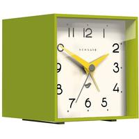Newgate Cubic II Alarm Clock - Lime Green [D] by Red Candy