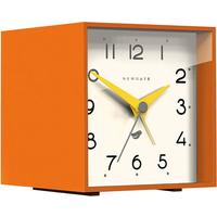 Newgate Cubic II Alarm Clock - Pumpkin Orange