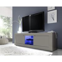 Urbino Collection Big TV Unit Including Led Spot Light - Matt Beige by Andrew Piggott Contemporary Furniture