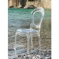 Belle Dining Chair - Clear Acrylic