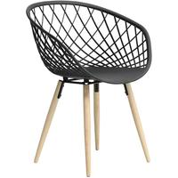 Sidera Chair - Wood Legs