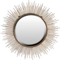 Large Sunburst Wall Mirror Contemporary Design