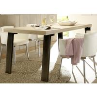 Palma Dining Table Sherwood Oak - Metal Leg