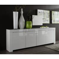 Rimini Collection Four Door Sideboard - White Gloss