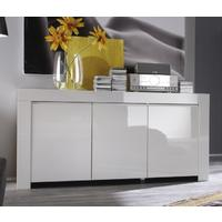 Rimini Collection Three Door Sideboard - White  by Andrew Piggott Contemporary Furniture