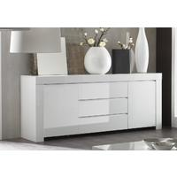 Rimini Collection Two Door/Three Drawer Sideboard - White  by Andrew Piggott Contemporary Furniture