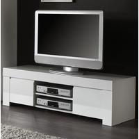 Rimini Collection Small TV Unit - White Gloss by Andrew Piggott Contemporary Furniture