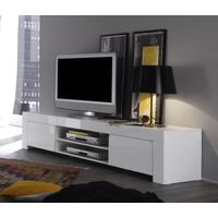 Rimini Collection Large TV Unit - Gloss White by Andrew Piggott Contemporary Furniture
