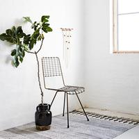 Wire Mesh Dining Chair Scandinavian