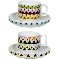 Viva Cup and Saucer Duo - Overlap