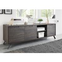 Palma Low Sideboard - Wenge by Andrew Piggott Contemporary Furniture