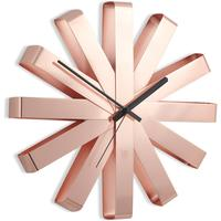 Umbra Ribbon Wall Clock - Copper