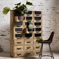 Multi Drawer Pharmacy Cabinet by Out There Interiors