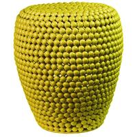 Metal Lime Bead Stool