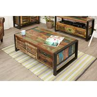 Urban Chic 4 Door 4 Drawers Large Coffee Table by Baumhaus Furniture