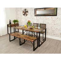 Shoreditch Rustic Dining Table - Large