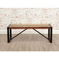 Urban Chic Small Dining Bench by Baumhaus Furniture