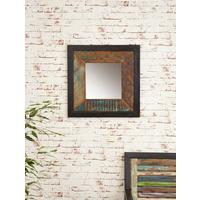 Shoreditch Wall Mirror Square Steel Frame