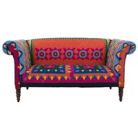 Mexican Embroidered Sofa by Out There Interiors