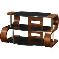 Jual S-Curved Retro Modern TV Stand JF203 - Walnut or Oak