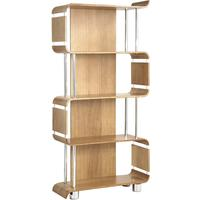 Jual Retro Modular Bookshelf BS201 - Oak, Ash or Walnut