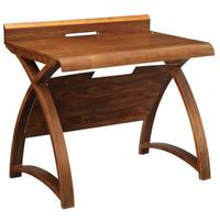Jual Retro Wood Laptop Desk 90cm - Walnut