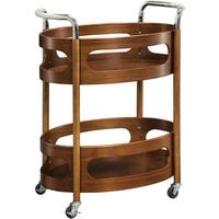 Jual Traditional Dining Trolley Walnut