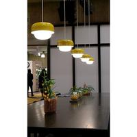 Aluminium and Glass Pendant Lamp