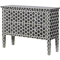 Inlaid 2 Drawer Mosaic Chest by Out There Interiors