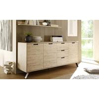 Palma Sideboard Three Doors/Three Drawers - Sherwood Oak by Andrew Piggott Contemporary Furniture