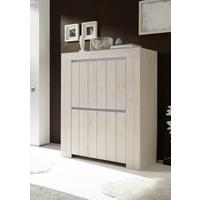 Monza High Sideboard - Rose Beige Finish by Andrew Piggott Contemporary Furniture