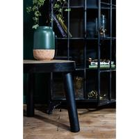 Mango Wood Coffee Table Black by Out There Interiors