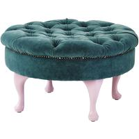Round Footstool by Out There Interiors