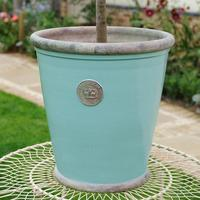 Kew Royal Boticanal Gardens Grande Pot Tiffany Blue XXX Large