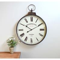 Pocket Watch Vintage Wall Clock - Brass