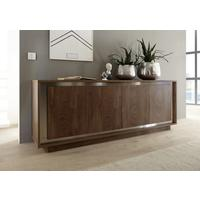 Luna Four Door Sideboard -  Cognac Finish by Andrew Piggott Contemporary Furniture