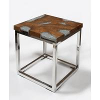 Annatto Cusse End Table