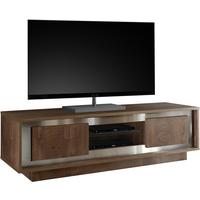 Luna Two Door TV Stand -  Cognac Finish by Andrew Piggott Contemporary Furniture