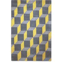 Geometric Rug - Yellow