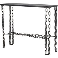 Chain Console Table Contemporary Metal