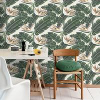 Tropical Bloom Wallpaper Set of 3 rolls