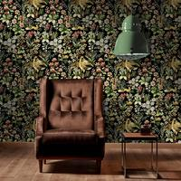 Floral Tapestry Wallpaper Set of 3 rolls by The Orchard