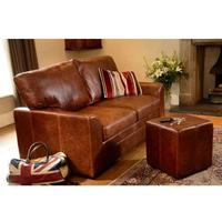 Seattle Two Seater Handmade Leather Sofa