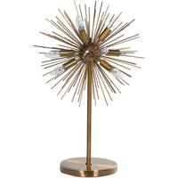 Starburst Metal Table Lamp
