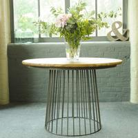 Birdcage Bistro Dining Table by The Orchard