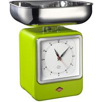 Wesco Retro Scales with Clock - Lime Green