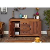 Shiro Walnut Large Sideboard by Baumhaus Furniture
