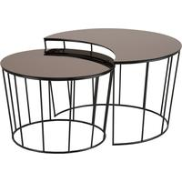 Sunmin coffee table set by Icona Furniture