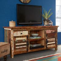 Coastal 2 door 2 drawer TV unit by Icona Furniture